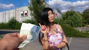 Public Agent - Hot Asian Chick Akasha Coliun Loves Girthy Cock