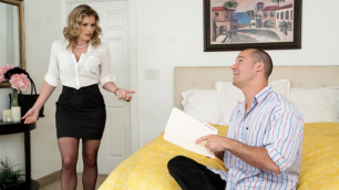 Brazzers - Sexy Cory Chase Upset Getting Divorced April Fool's Honey!