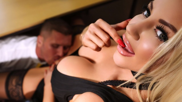 Brazzers - Testing Nicolette Shea Concentration During Job Interview