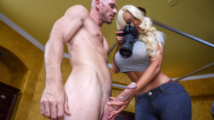 The Fake Doll Nicolette Shea Founds Her Private Dick