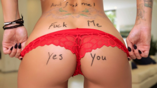 Brazzers - If You See My Red Panties Then Follow Me! Gorgeous Jessa Rhodes