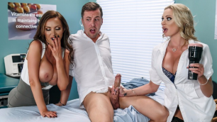 Dick Stuck In Fleshlight? First Aid From Doctors Briana Banks And Nikki Benz