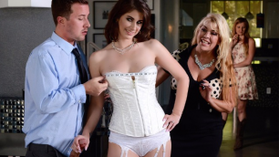 Karina White Says Yes To Getting Fucked In Your Wedding Dress In Secret From The Groom
