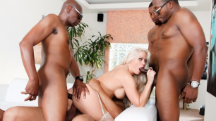 Devils Film - Holly Heart Prefers BBC In Blacked Out 3