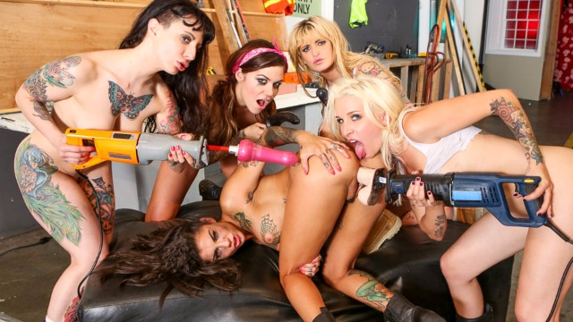 Devils Film - Payton Sinclaire Stevie Shae And Stevie Shae And Other Will Destruct Bonnie Rotten