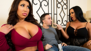 Brazzers - Сaring Exchange Of  Housewives August Taylor And Sybil Stallone