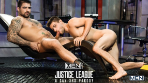 Men - Just Dick League : A Gay XXX Parody Part 1 Johnny Rapid Fucked up by A Ryan Bones