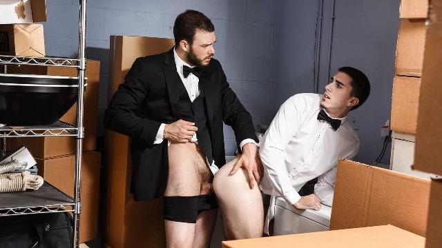 Runaway groom gay porn