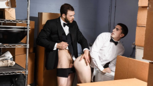 Men - Runaway Groom Suck And A Hole To Fuck Cliff Jensen , Damien Kyle