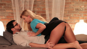 Danejones -Bearded Student Gets Blonde And Cleans Her Hole Nathaly Cherie