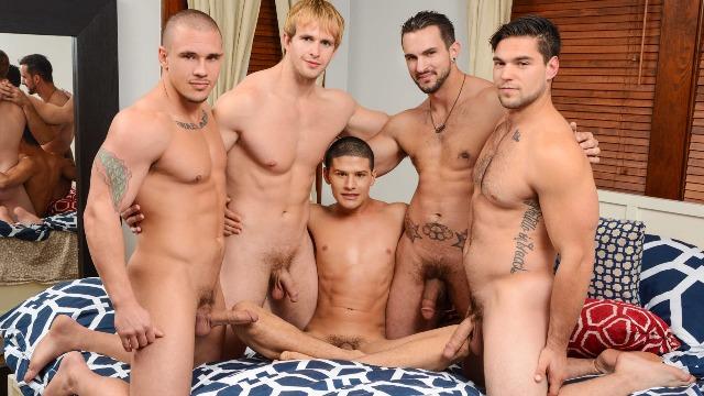 Men - The Boy Next Door Part 3 Hot Guys Adam Bryant , Aspen , Phenix Saint And Other