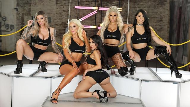 Bridgette B, Gina Valentina And Other Pornstars In Brazzers House 3: Finale