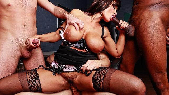 Foursome With Lisa Ann In Dangerous Minds With Dangerous Dicks