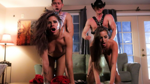 Wicked - Magic Mike XXXL A Hardcore Parody, Scene 3 Amirah Adara, Jessa Rhodes Foursome
