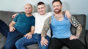 Men - 2 For 1 Jake Porter, John Magnum And Jordan Levine Fuck Now