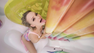 Mofos - Emma Hix Shows Us Her Magical Inflatable Room