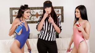 Hardecore Sex Adria Rae And Elena Gilbert Showdown: Part 1