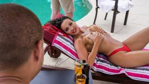 Poolside Affair With Abigail Mac