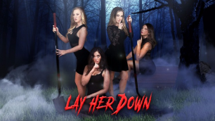 DigitalPlayground - Aubrey Rose, Bailey Brooke, Carolina Sweets And Gia Paige In Lay Her Down Mystic XXX Parody