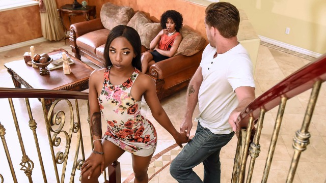 Brazzers - Sneaky Babes Misty Stone, Sarah Banks Like Mother, Like Daughter