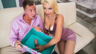 Viewing Of The Gift Registry Ended With Having Sex With Hot Carmen Caliente