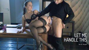 Babes -  Let Blue Angel Handle This Huge Dick