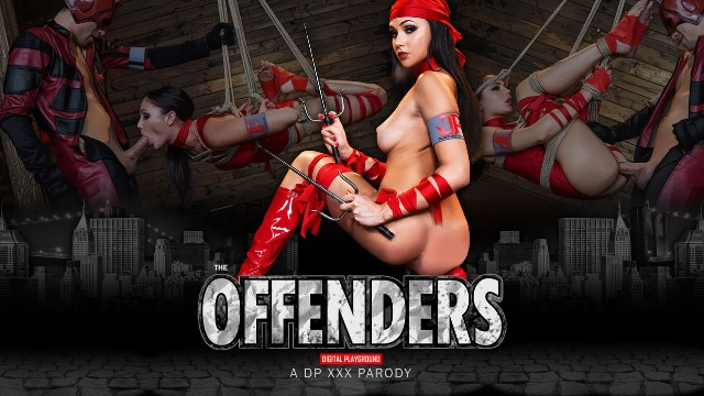 Our Sexy Superhero Ariana Marie In The Offenders: A DP XXX Parody
