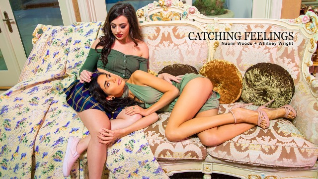 Babes - Naomi Woods And Whitney Wright Start Feeling The Stirrings Of Passion In Catching Feelings
