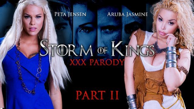 Drogus Fucks Handmaiden Aruba Jasmine And Peta Jensen In Storm Of Kings XXX Parody Part 2