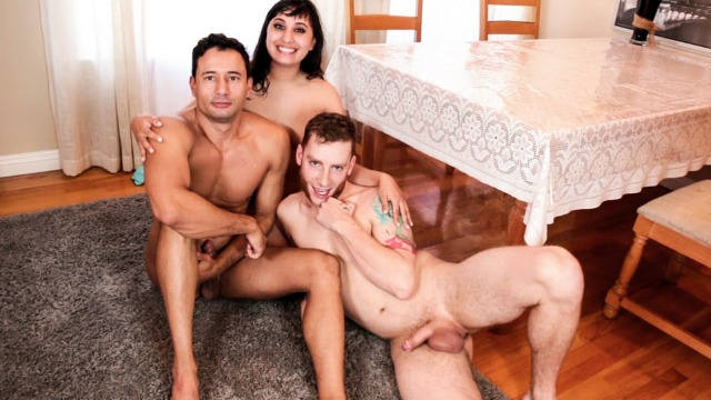 BTS With Cadence Lux Alura Jenson And Other In Bisexual Fantasies