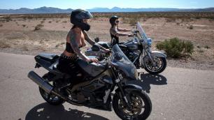 Bloodthirsty Biker Girls Anna Bell Peaks And Felicity Feline: Part 3