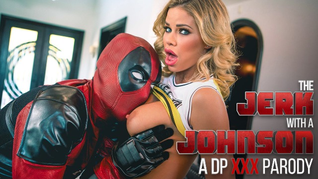 The Jerk With A Johnson And Blonde Jessa Rhodes: A DP XXX Parody