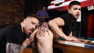 Men - Pool Dick In His Ass Johnny Rapid And Jordan Levine