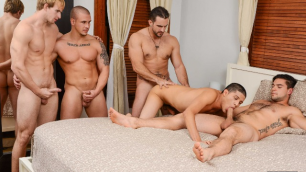 Men - The Boy Next Door Part 3 Neighbor's Big Dick Adam Bryant , Aspen , Cameron Foster , Phenix Saint , Tino Cortez