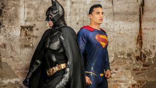 Batman V Superman : A Gay XXX Parody Part 3 Robber`s Dick Allen King , Massimo Piano , Topher Di Maggio And Other