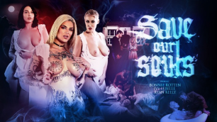 Digital Playground - Ladies Bonnie Rotten, Ivy Lebelle And Ryan Keely In Save Our Souls
