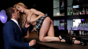 Babes - Cherie Deville Knows Just What She Wants In Dive Bar Anal