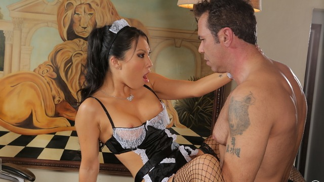 Wicked - Nothing but Trouble, Scene 5 Asa Akira Maid Gets Fucked