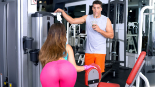 DigitalPlayground - Wild Kelsi Monroe Fucked In Asshole (Gym Fails)