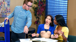 DigitalPlayground - Dirty Girls Aria Alexander Mya Mays Study Group