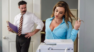 Brazzers - Hot Natasha's Nice Office Initiation