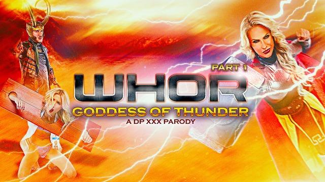 DigitalPlayground - Big Tits Of Phoenix Marie Whor: Godess of Thunder, A DP XXX Parody Part 1