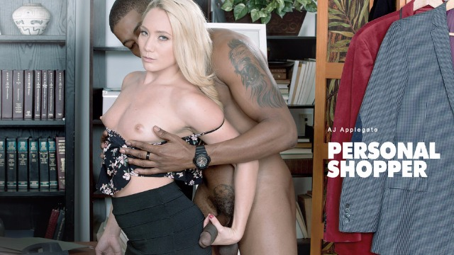 Babes - AJ Applegate Loves Bang With Her Black Personal Shopper