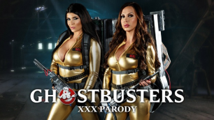 Brazzers - Hunters Ana Foxxx, Monique Alexander And Other In Ghostbusters XXX Parody: Part 4