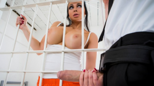 Brazzers - He Manages To Get The Drop On  Aletta Ocean In Lost In Brazzers Episode 3
