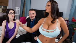 Brazzers - Stay Away From MILF Ava Addams's Daughter Part 2