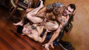 Men - Strip Tease By Sluty Guy Aspen And Cliff Jensen