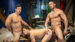 Men - Spiderman : A Gay XXX Parody Part 3 Show Your Power Myles Landon , Tobias And Will Braun
