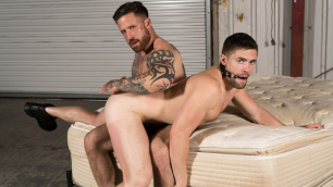 Griffin Barrows Has Found A Top With Jordan Levine In Warehouse Chronicles Spanked Raw