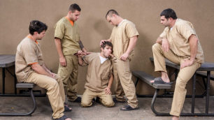 Men - Hard Orgy In Prison Part 4 Adam Bryant , Aspen , Dimitri Kane , Johnny Rapid , Tony Paradise